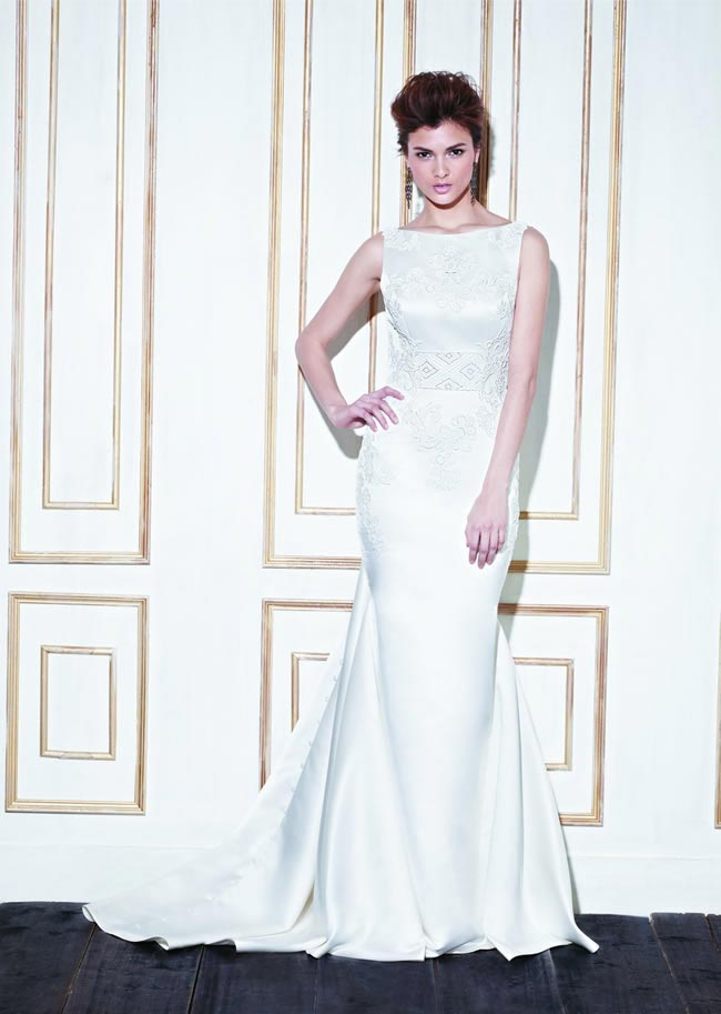 Visit The Wedding Shop for their Enzoani trunk show