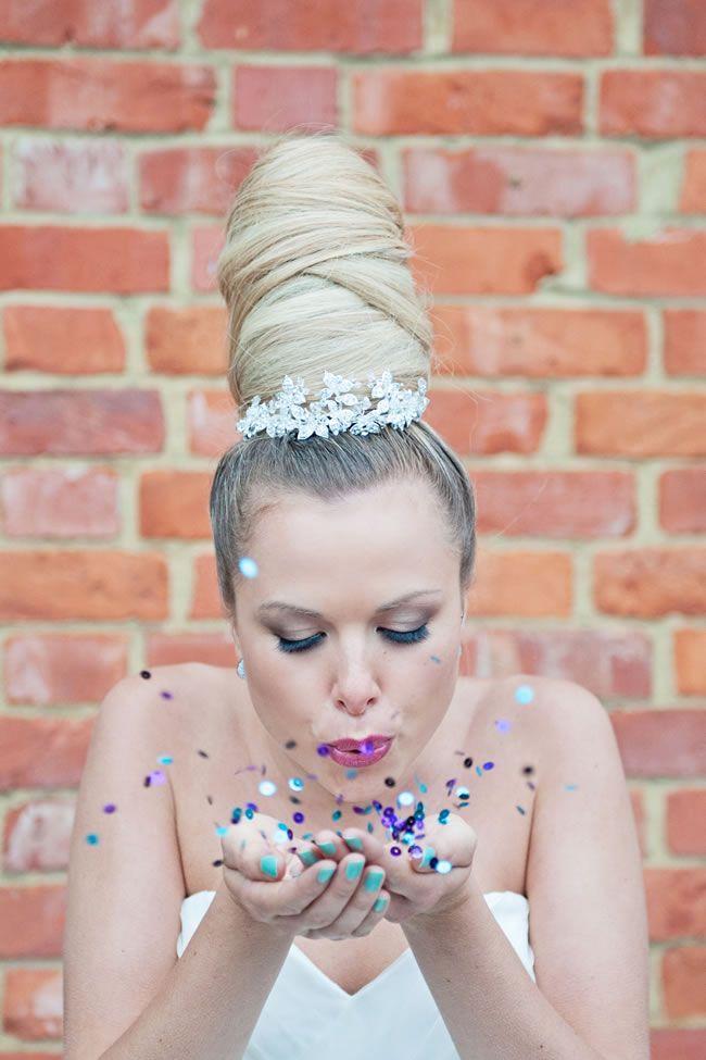 An urban glamour themed photoshoot at Sanctum on the Green © Hannah McClune Photography