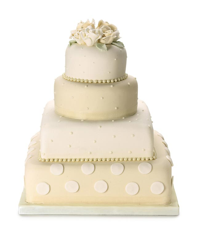 how-to-choose-high-street-wedding-cakes-to-suit-your-theme-polkadot-cake