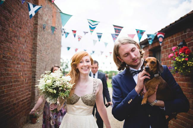 Helen and Ben's quirky barn wedding © tobiahtayo.com