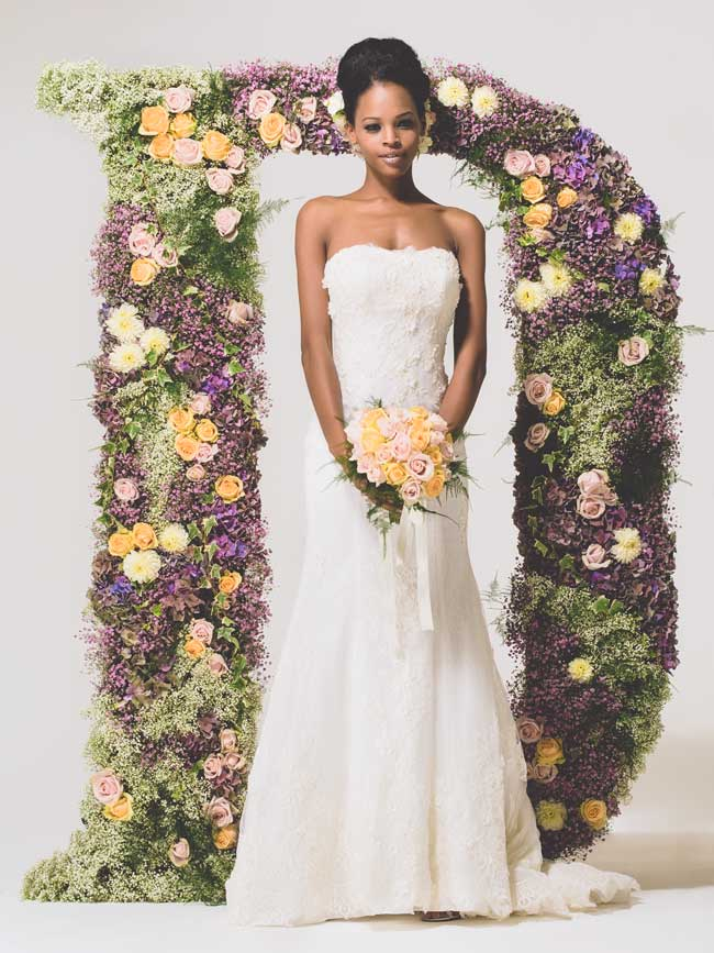 20 of the best floral wedding dresses for a country garden theme
