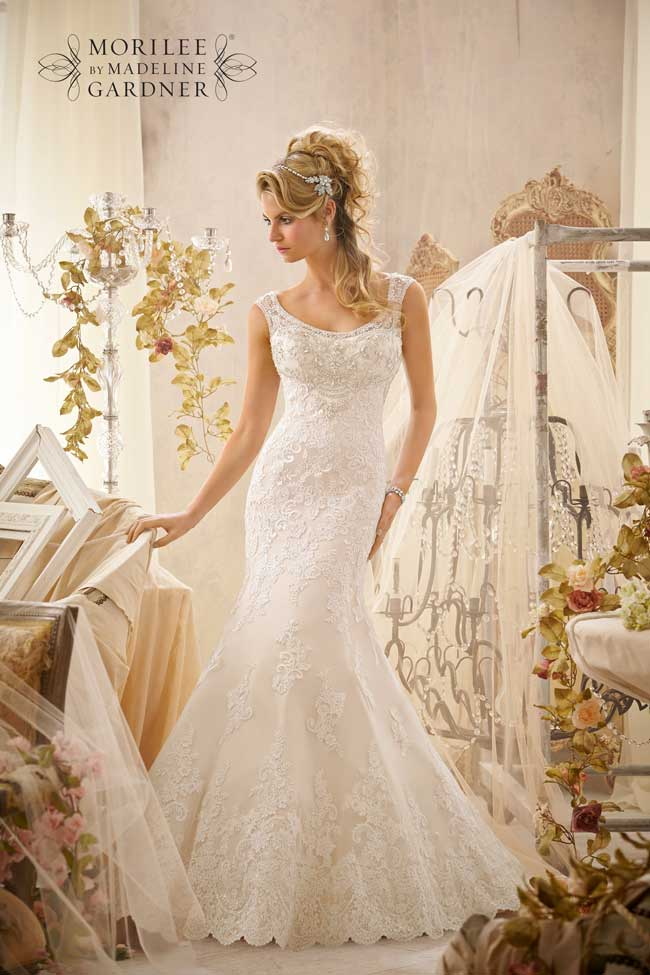 Best Lace Wedding Dresses-Style-2601-Mori-Lee