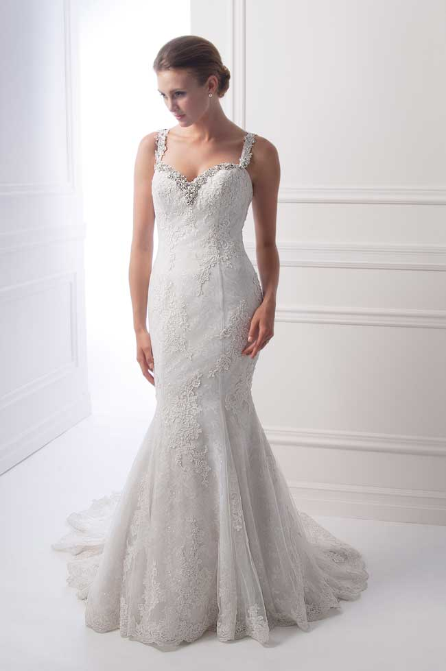 Best Lace Wedding Dresses Style-6915-Alfred-Sung-Bridals
