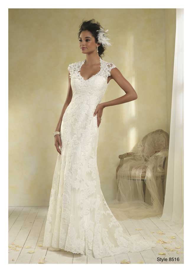 Best Lace Wedding Dresses-Style-8516-Alfred-Angelo