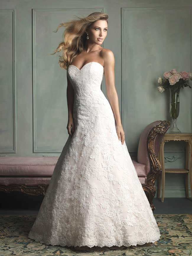 Best Lace Wedding Dresses-Style-9109-Allure-Bridals