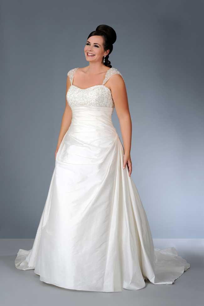 8 essential wedding dress shopping tips for curvy brides
