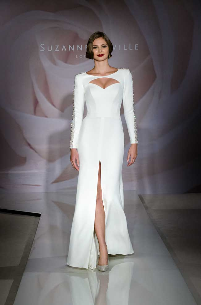 9-jaw-dropping-wedding-dresses-your-groom-will-love-Dazzle_Suzanne-Neville