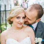 A stylish Tiffany-inspired real wedding from Holly and Richard © Emma Case Photography