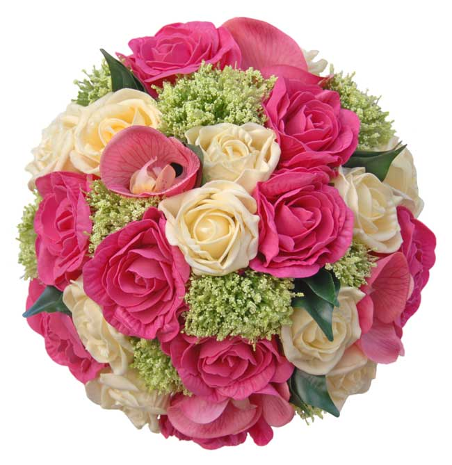 like-silk-wedding-flowers-youll-love-sarahs-flowers-new-website-Cerise-Pink-Rose,Orchid,-Cream-Rose-&-Trachelium-Bouquet-sarahsflowers.co.uk