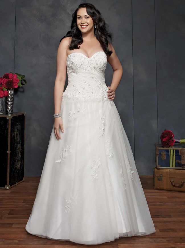 Plus Size Brides Will Love The Amazing New Femme By Kenneth Winston Collection For 2014