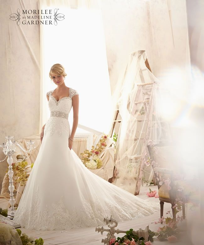 The 2014 Mori Lee Bridal Collection Is Full Of Sparkly