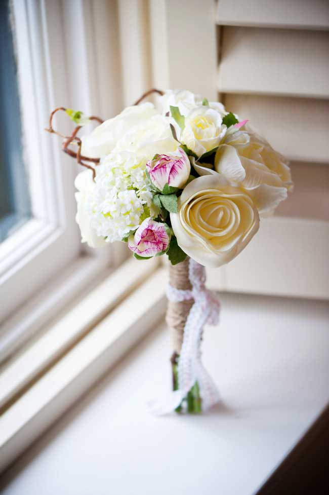 Would you have artificial wedding flowers? These real brides did…