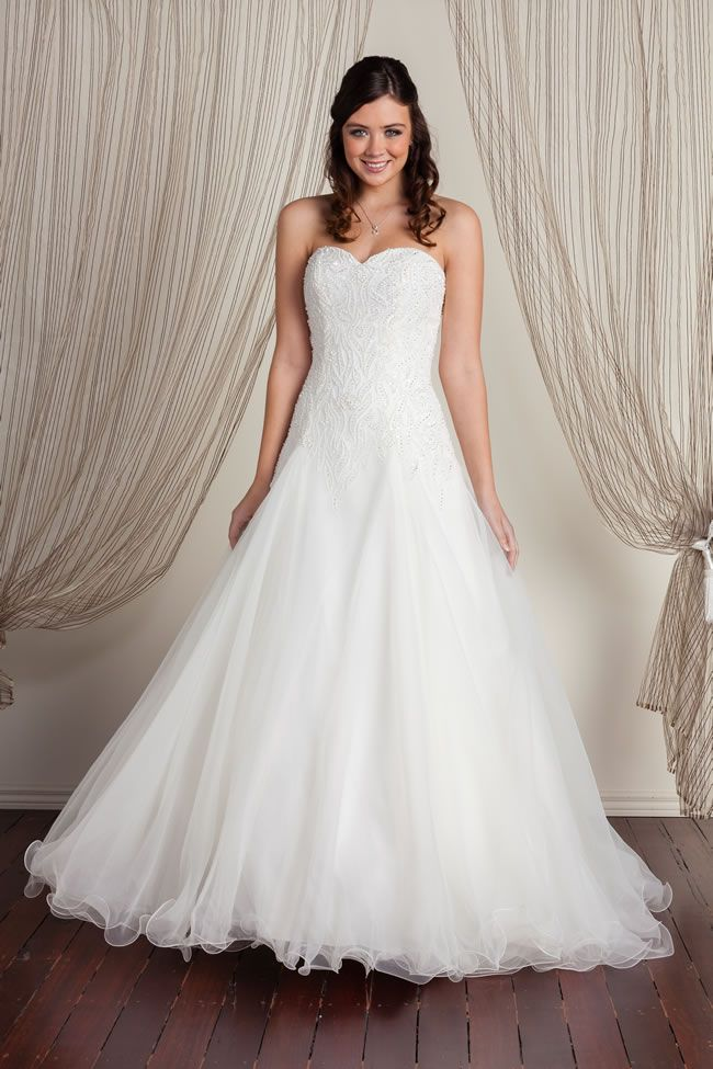 Chic brides-to-be will love the latest designs from Decorum Bride
