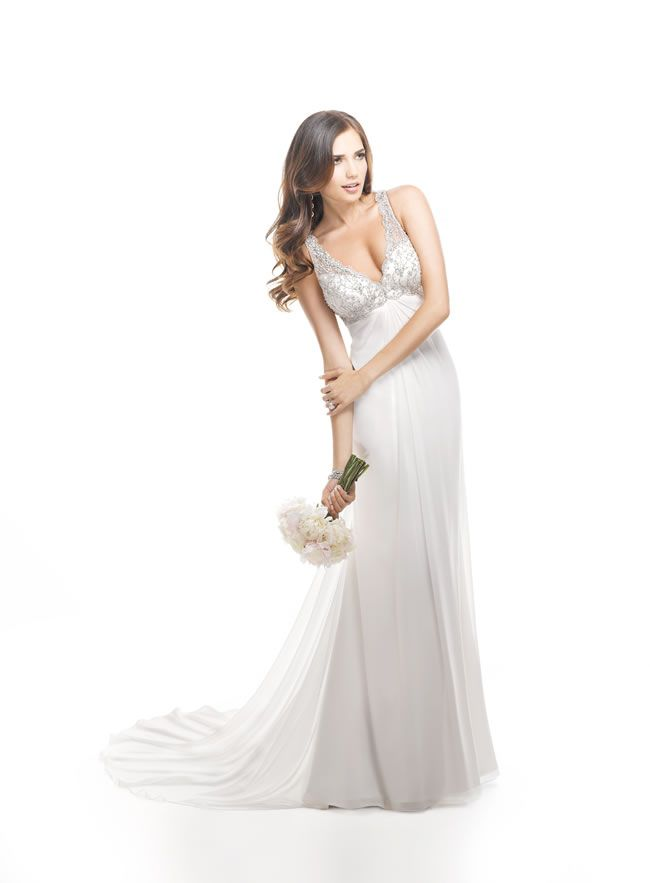 63773655c37 We love the vintage-inspired Maggie Sottero Spring 2014 collection!