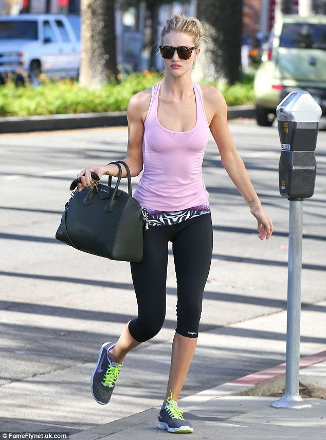 rosie-huntington-whitely-exercise