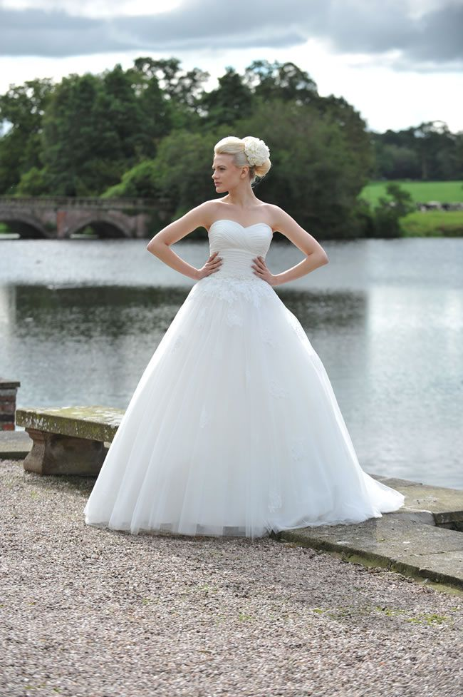 These romantic gowns from Ivory & Co. are perfect for English country garden weddings