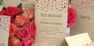 wedding-stationery-basics-what-to-include-and-when-to-send-Confetti-wedding-invitation