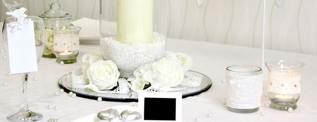 7-brilliant-budget-buys-for-a-vintage-wedding-theme-Photo-1-(Lace-Decorations)