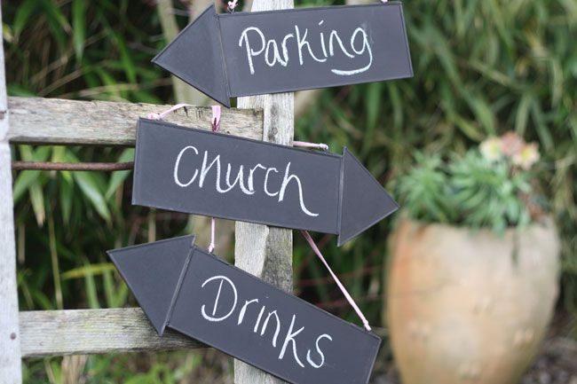 7-of-the-best-new-wedding-signs-and-sayings-for-2014-Blackboard-Arrow-Signs-8-each-The-Wedding-of-my-Dreams