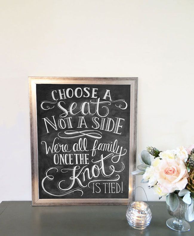 7-of-the-best-new-wedding-signs-and-sayings-for-2014-choose-a-seat-not-a-side