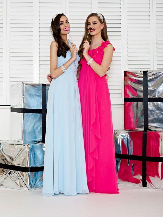 glamorous-wedding-theme-we-love-these-new-black-bridesmaid-dresses-Style-2228-and-2231