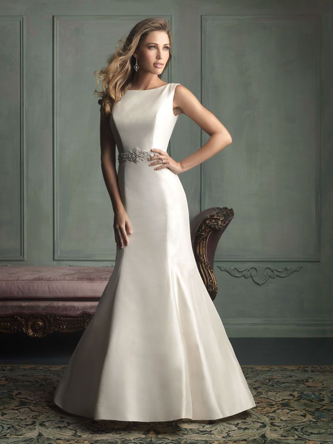 hate-strapless-try-these-new-wedding-dresses-with-straps-from-allure-bridals-9106F