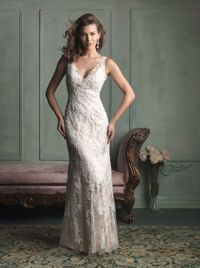 hate-strapless-try-these-new-wedding-dresses-with-straps-from-allure-bridals-9116F
