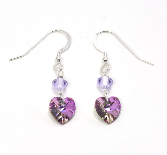 need-some-bridesmaid-gift-ideas-julieann-beads-has-the-answer-Lilac-Vitrail-Heart-Earrings-19.50