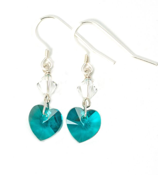need-some-bridesmaid-gift-ideas-julieann-beads-has-the-answer-Teal-Heart-Earrings-19.50