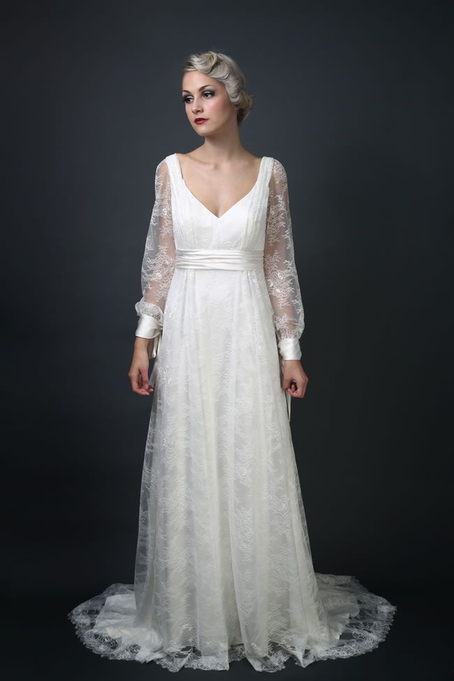Isabelle Montagu at Decorum Bride 2014 collection