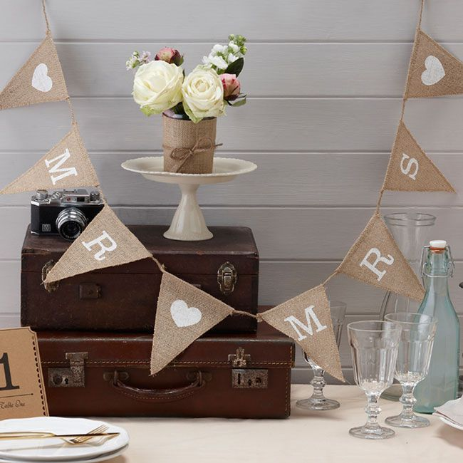 save-20-on-birdcages-and-bunting-in-the-wedding-ideas-shop-bunting-Mr-&-Mrs