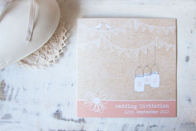 save-an-exclusive-10-on-wedding-stationery-with-the-card-gallery-Vintage-bunting-and-Love-Birds