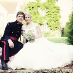 We love Hannah and Steve's beautiful military wedding with an English country garden theme © kerrydiamondphotography.com, pennyfosterphotography.co.uk