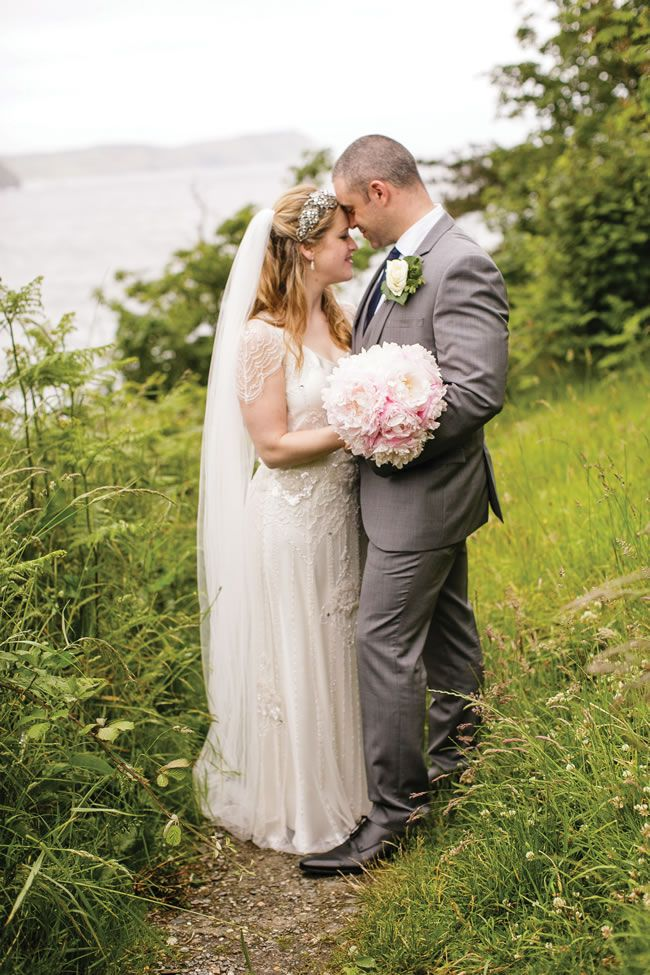 Jennifer and Mark's vintage-inspired, family-filled wedding on the Isle of Man © Shan Fisher