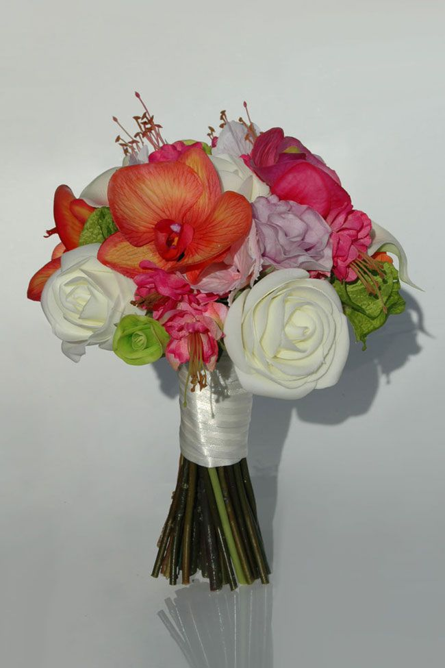 10 Best Selling Silk Wedding Flowers For Spring And Summer 2014