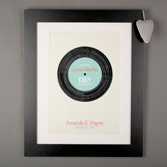 10 groom gifts to surprise your man with on your wedding day Our Record Print