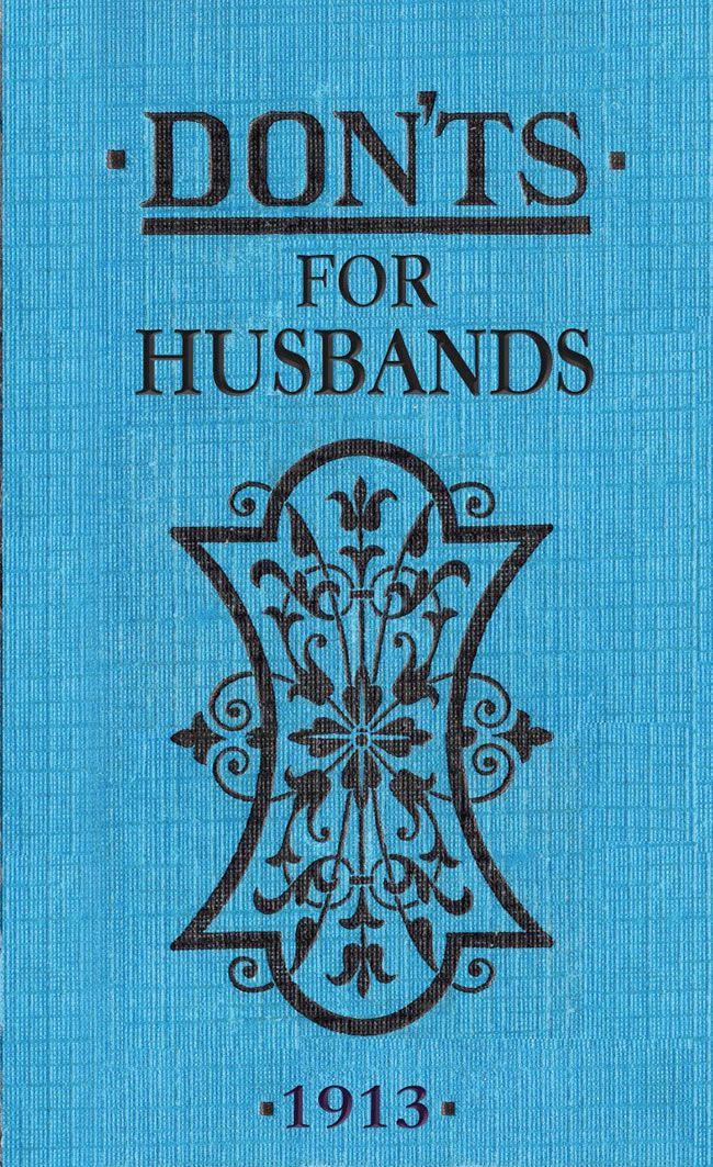 10-grooms-gifts-to-surprise-your-man-with-on-the-wedding-day-donts-for-husbands-waterstones-£3.50
