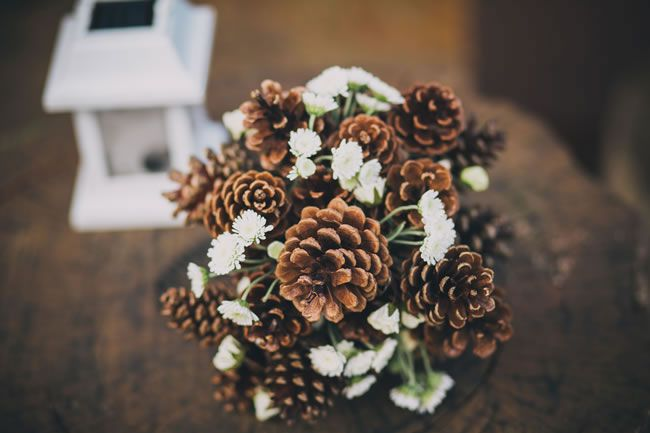 14 Amazing DIY Details from Real Weddings cone bouquet