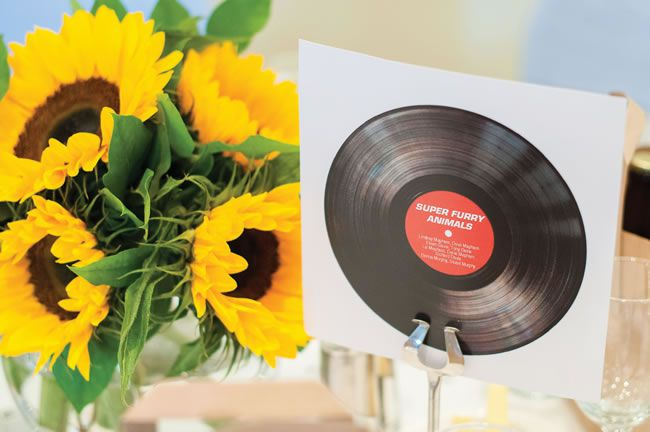 14 Amazing DIY Details from Real Weddings vinyl albums