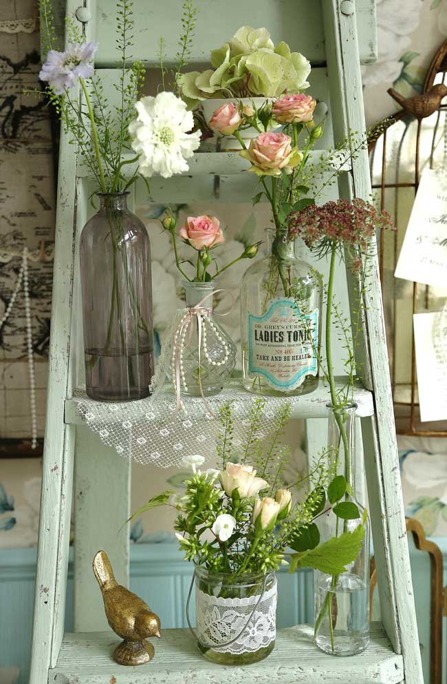 7-hot-wedding-details-to-hire-for-your-vintage-reception-ladders-bohemiandreams.co.uk-hire-from-50