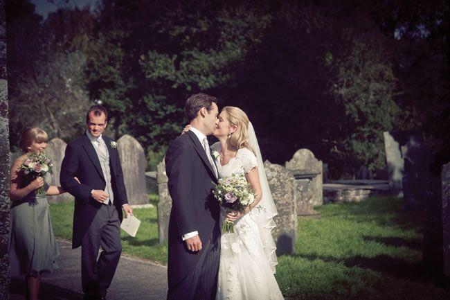 Jen and Adam's Cornish countryside wedding © alanlawphotography.co.uk