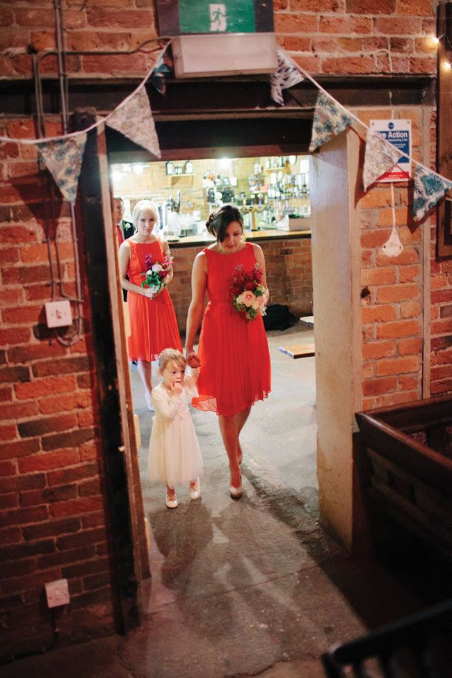 Rebecca and Luke's pink and red wedding theme © Miki Photography