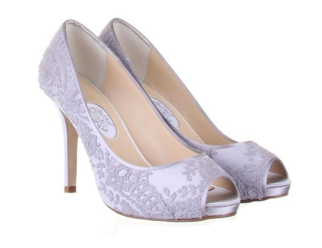 Elerine shoes, £190, Rainbow Club