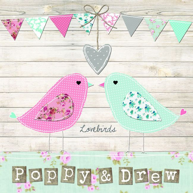Lovebirds stationery, from £1.25, sarahwants.com