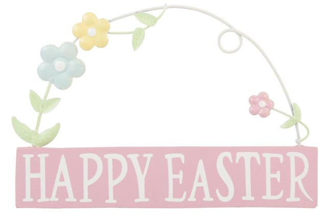 Mini Happy Easter sign, £4, Gisela Graham