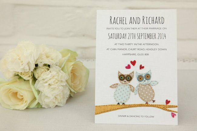 6-super-illustrated-wedding-invitations-for-a-rustic-wedding-theme-HOOT