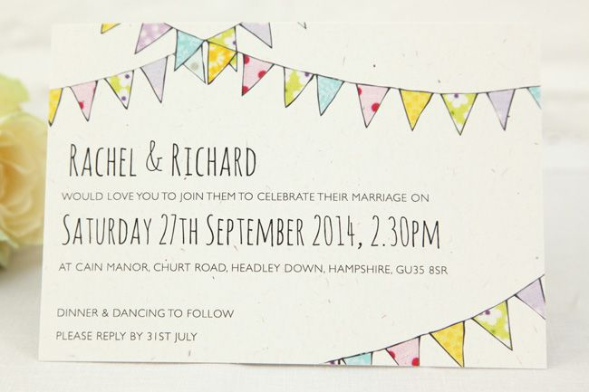 6-super-illustrated-wedding-invitations-for-a-rustic-wedding-theme-bunting