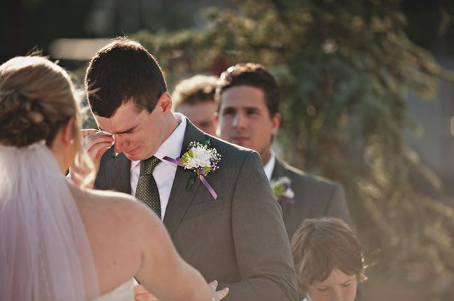 Crying groom 8-processional-songs-guaranteed-to-have-your-groom-in-tears