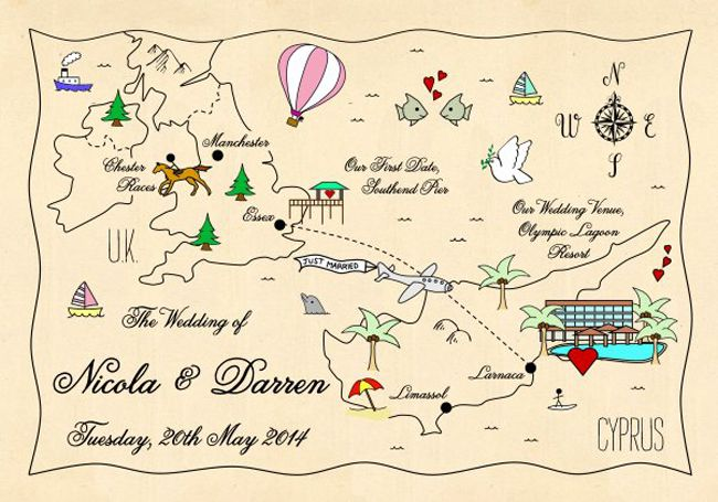 direct-your-guests-in-style-with-these-wonderful-wedding-maps-1-341_Cyprus&Uk_Vintage