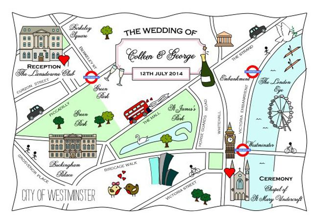 direct-your-guests-in-style-with-these-wonderful-wedding-maps-2.-496_London_Colour-Accent